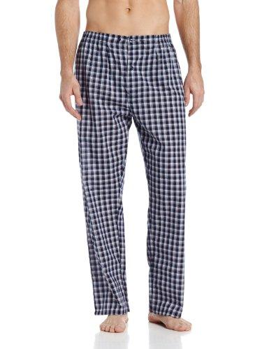 Hanes Men's Woven Plain Weave Pajama Set