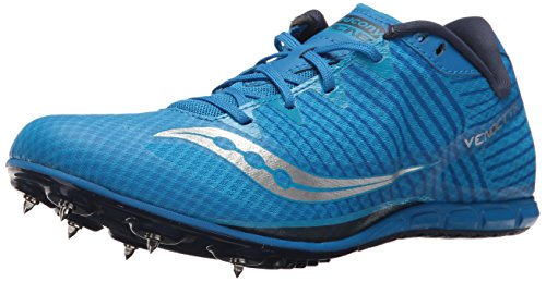 Saucony Men's Vendetta 2 Track and Field Shoe, Royal/Silver, 9 Medium US