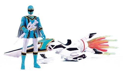 Magi Ranger Sky Broomstick & Magi Blue Action Figure -