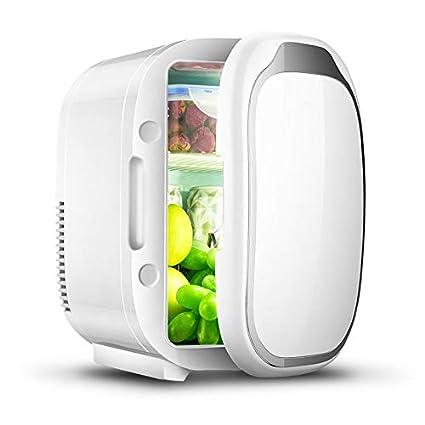 Amazon.es: MKOG Mini coche refrigerador pequeño hogar refrigerador ...