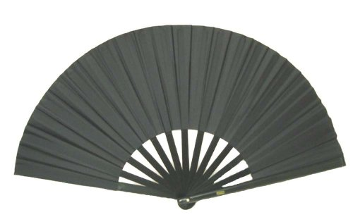 Black Performance Folding Fan - Shade Fan