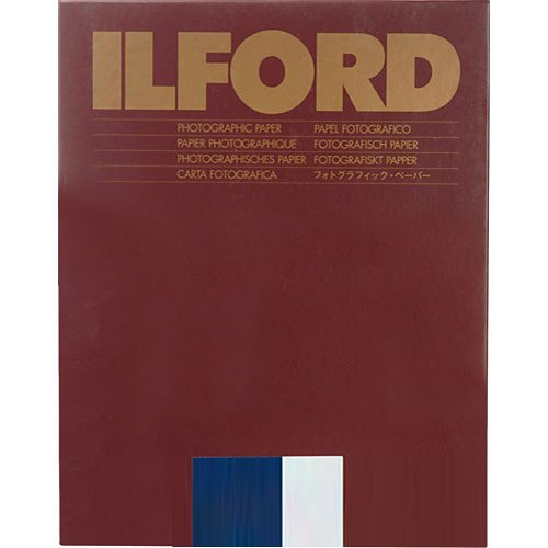 Ilford Multigrade RC Warmtone Resin Coated VC Variable Contrast Black & White Enlarging Paper - 8x10' - 25 Sheets - Pearl Surface 1168484