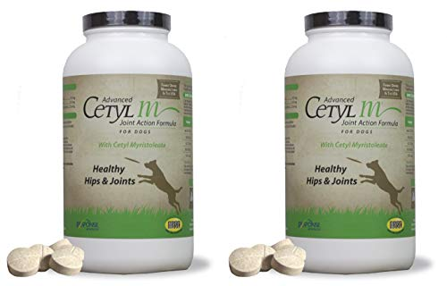 Advanced Cetyl M Tablets Joint Action Formula for Dogs (120 count)