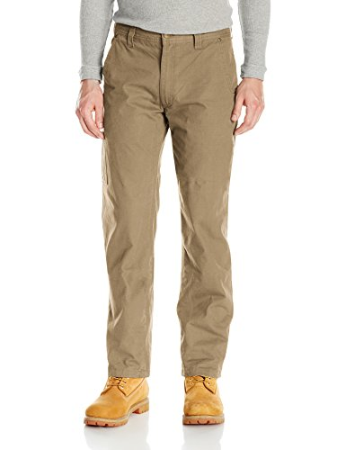 (Key Apparel Men's Rip Stop Foreman Pant, Khaki, 34W x 32L)