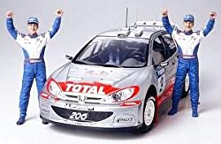 #24262 Tamiya Peugeot 206 WRC 2002 1/24 Plastic Model Kit,Needs Assembly by Tamiya