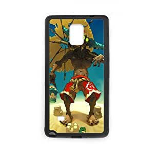Protection Cover Cixyn Samsung Galaxy Note 4 N9108 Cell Phone Case Black wakfu game Protection Cover