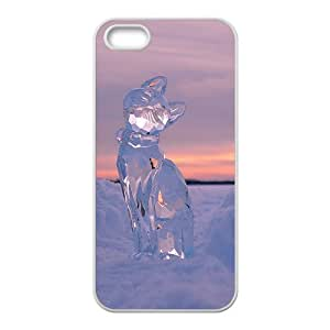 Crystal Cat Hight Quality Plastic Case for Iphone 5s