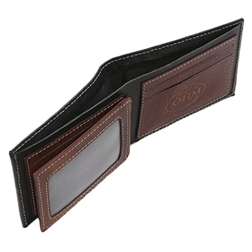 OHM OHM York Leather Black Wallet Tan York Wallet New Black New in in Leather Tan SwTpU