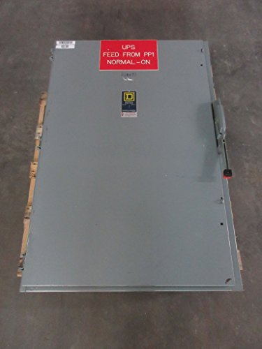 (Square D HU465 400 Amp 600V 4-Pole Non-Fusible Safety Switch Disconnect 400A)