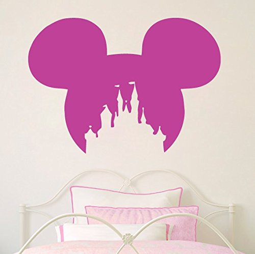 Amazon Com Disney Castle Wall Decal Mickey Mouse Wall