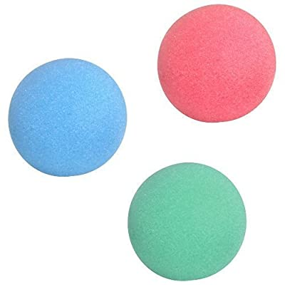 US Toy 1 Dozen Foam Balls,colors may very: Arts, Crafts & Sewing