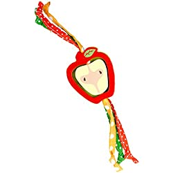 Ware Manufacturing Tug-n-Toss Apple Chew Toy for Small Animals