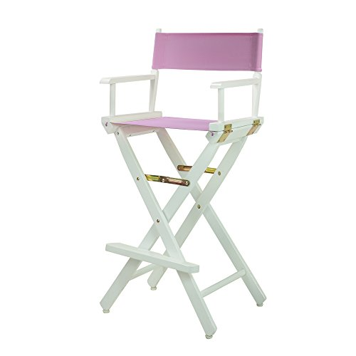 Casual Home 230-01/021-22 Director Chair, 30''-Bar Height, Pink by Casual Home