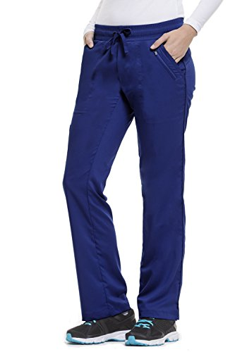 Navy Label (Purple Label Women's Tanya 9139 Drawstring Pant by Healing Hands- Navy- Small)