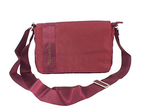 Tamaris - Bolso al hombro de material sintético para mujer rojo - Sangria