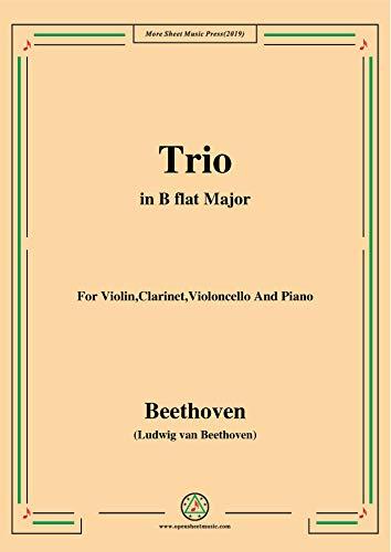 (Beethoven-Trio Op.11,in B flat Major,for Violin,Clarinet,Violoncello and Pno (German Edition))