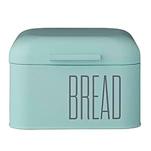 Bloomingville A97200001 Mint Green Metal Bread Bin