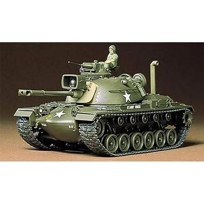 Tamiya America, Inc 1/35 US M48A3 Patton Tank, TAM35120: Toys & Games