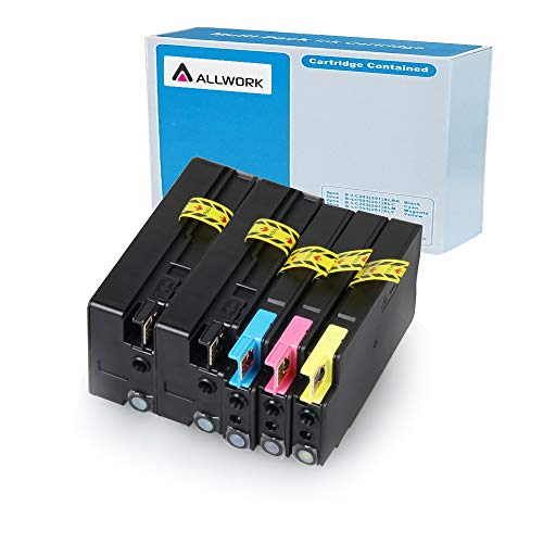 Allwork 950XL 951XL Compatible Ink Cartridges Replacement for HP 950 XL 951 XL Works with HP Officejet Pro 8610 8600 8100 8620 276dw 251dw 8600 Plus 8625 8630 8615 8640 - Fax 950