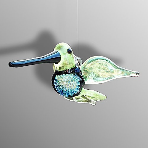 Glass Hummingbird Sun-catcher, (Lamp Suns Phoenix)