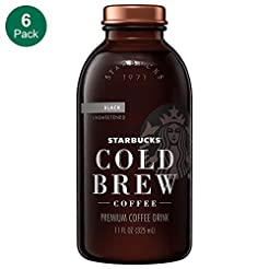 Starbucks Cold Brew Coffee, Black Unswee...