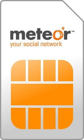 Meteor SIM Card Ireland - Irish Number - Mobile SIM Cards - International Sim Card - Pay As You Go Prepaid Sim Cards Cheap International - Number Meteor