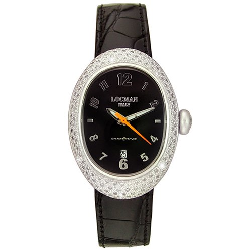 Locman Women's 015BK2D Nuovo Diamond Watch