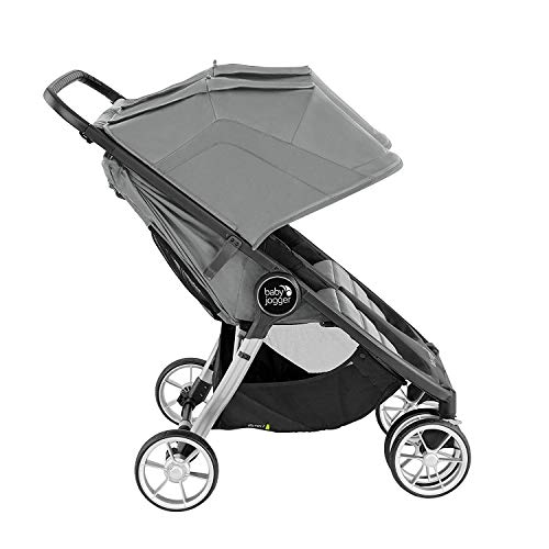 414R8L65XXL - Baby Jogger City Mini 2 Double Stroller, Slate