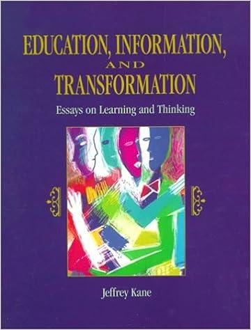 transformational learning essays