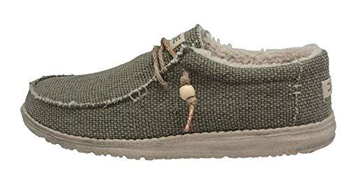 Chalet Maschile Wally Dude Kaki Foderato Pelliccia Naturale Verde Shoes qaEYFUwS