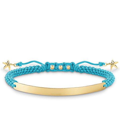 ... jaune 18 carats, nylon. Thomas Sabo Love Bridge, Femmes bracelet