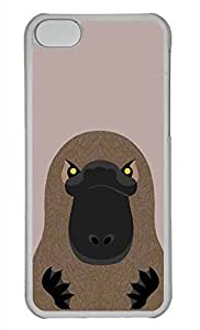 Personalized Custom Platypus for iPhone 5C PC Transparent Case