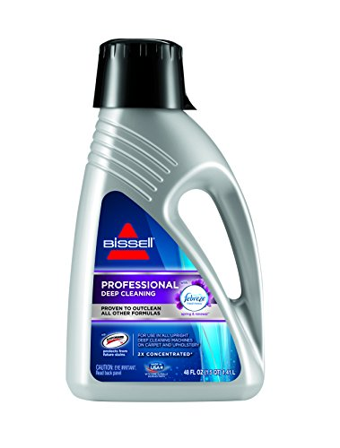BISSELL Professional Deep Cleaning with Febreze Freshness Spring & Renewal Formula, 2515A, 48 (48 Ounce Carpet Cleaner)