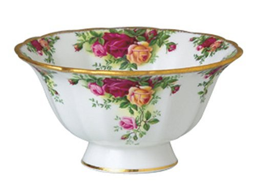 Royal Albert Old Country Roses Footed Bowl Royal Doulton 27400815