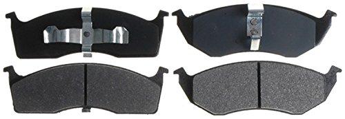 Voyager Brake (ACDelco 14D591M Advantage Semi-Metallic Front Disc Brake Pad Set)