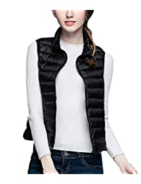 Girl Duck Down Lightweight Gilets Classic Comfortable Packable Quilted Vest