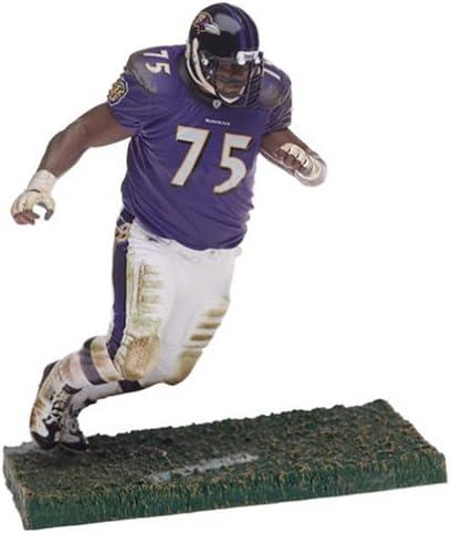 Mcfarlane Nfl Series 9 Figure: Jonathan Ogden With Purple Ravens ...