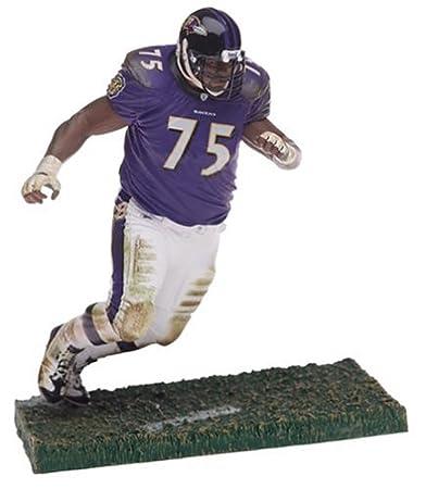 NFL Series 9 Figure: Jonathan Ogden with Purple Ravens Jersey ...