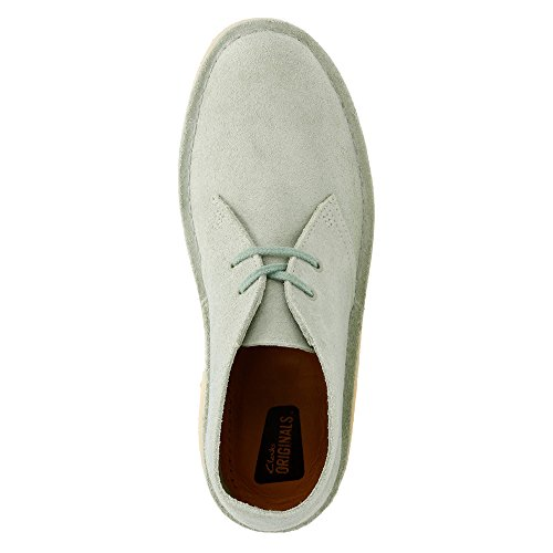 Clarks Originals Uomo Desert Boot Pale Green Suede