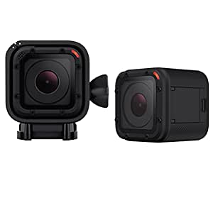 GoPro HERO4 Session - Videocámara deportiva (8 Mp, Wi-Fi, Bluetooth, sumergible hasta 10 m), (versión alemana)