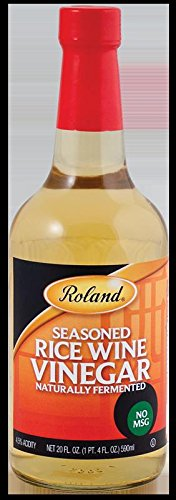 Roland Seasoned Rice Wine Vinegar, 20 oz