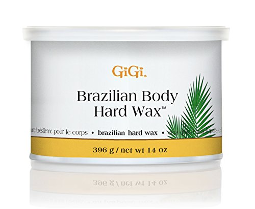 Brazilian Waxing (GiGi Brazilian Body Hard Wax 14ounce)