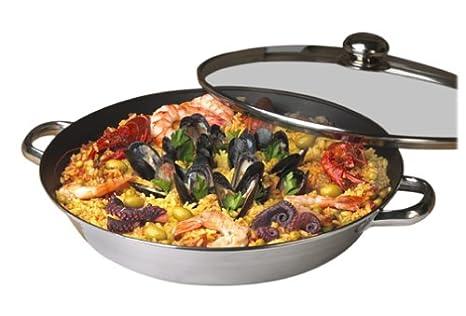 Amazon.com: Innova Classicor 14-Inch Paella de acero ...