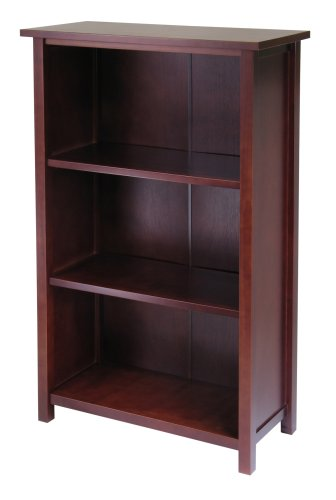 (Winsome Wood 94328 Milan Shelving, Long, Antique)