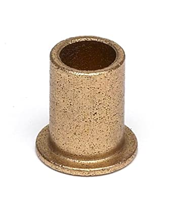 Oilite Sintered Bronze Flanged Sleeve Bearing Ff318 01b 3