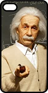 Einstein Theory Of Relativity Genius Black Rubber Case for Apple iPhone 5 or iPhone 5s