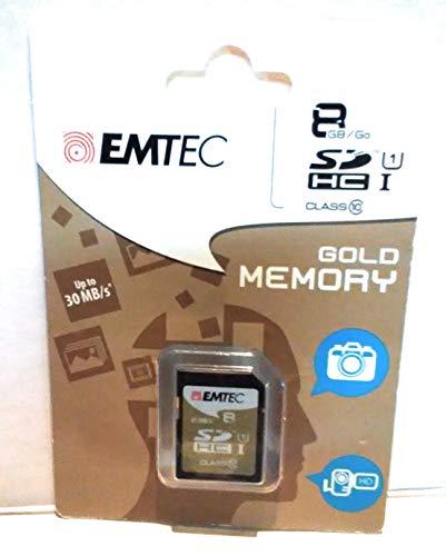 EMTEC 8 GB Class 10 Jumbo Extra SDHC Memory Card