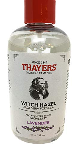 - Thayers Natural Remedies Alcohol-Free Lavender Witch Hazel Facial Mist Toner, 8 Ounce