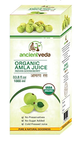 Amla Juice Organic / Indian Gooseberry 1000 ml - USDA Certified Organic