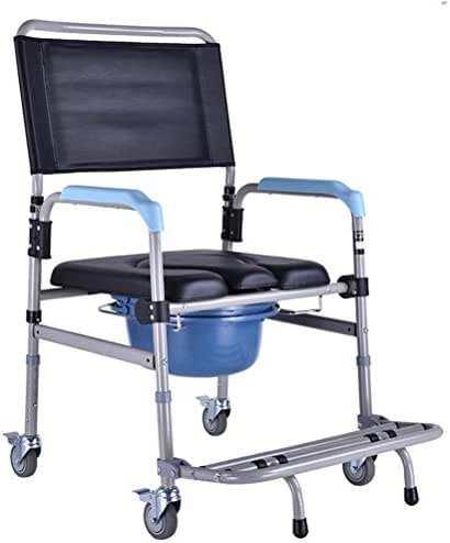 GaoFan Commode Chair for Old Man Pregnant Women, Removable Bath Shower Seats Potty Chair Toilet Chair,Sturdy Waterproof